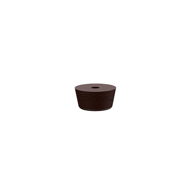 RUBBER FURNITURE PAD D21 H12mm / BROWN